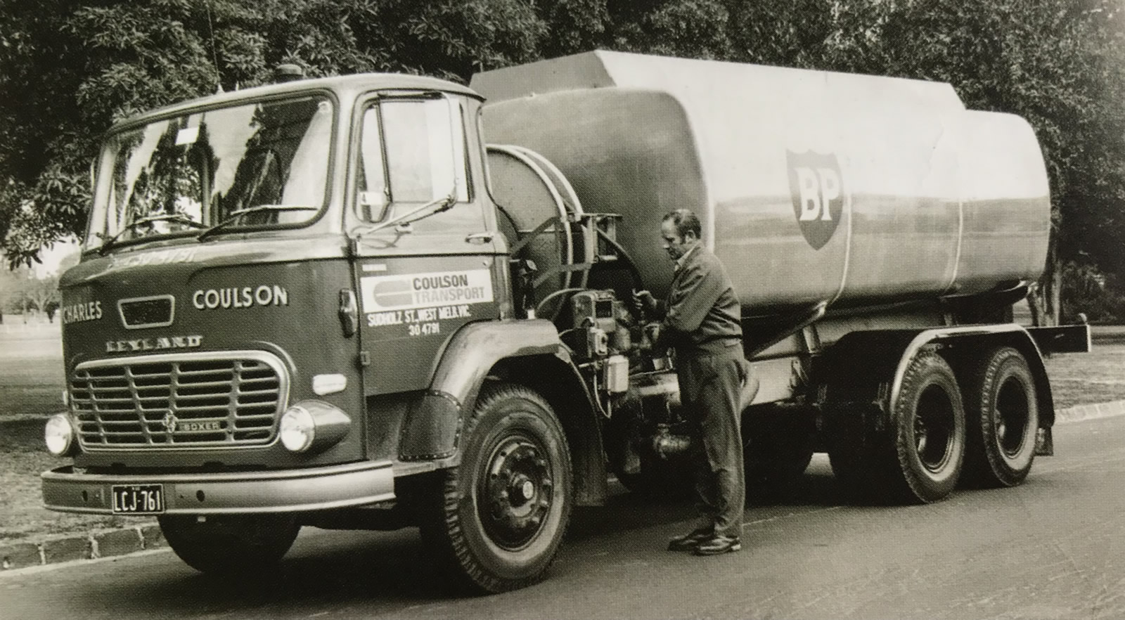 Fuel Deliveries by Coulson Transport