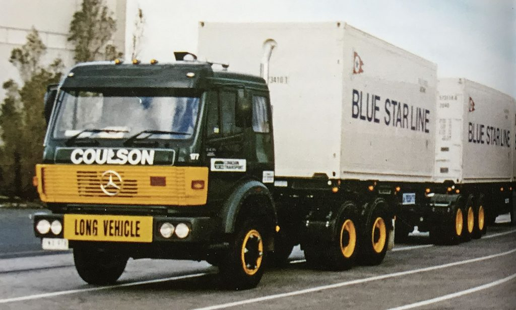 Coulson Transport Containers