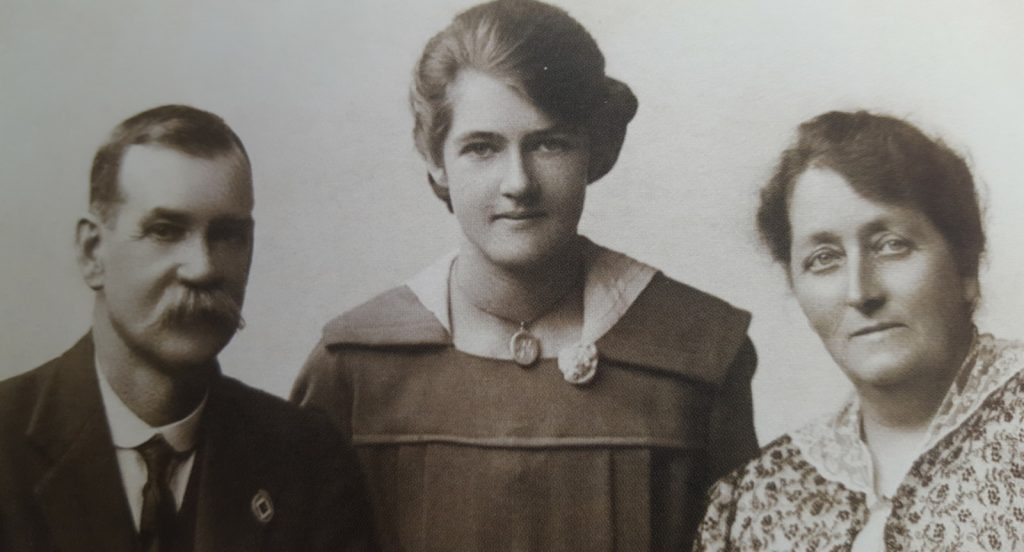 Edwin Hugh Coulson (Tony's Great Grandfather), Shirley Irene Coulson (Tony's Grandmother) and Rhoda Coulson(Tony's Great Grandmother)